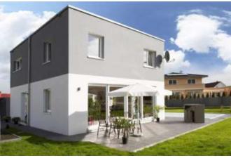 wohnkomfort zum quadrat von dennert massivhaus gmbh auf baugewerbe online. Black Bedroom Furniture Sets. Home Design Ideas